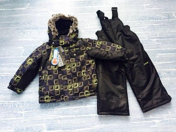 зимняя одежда для мальчиков Густи