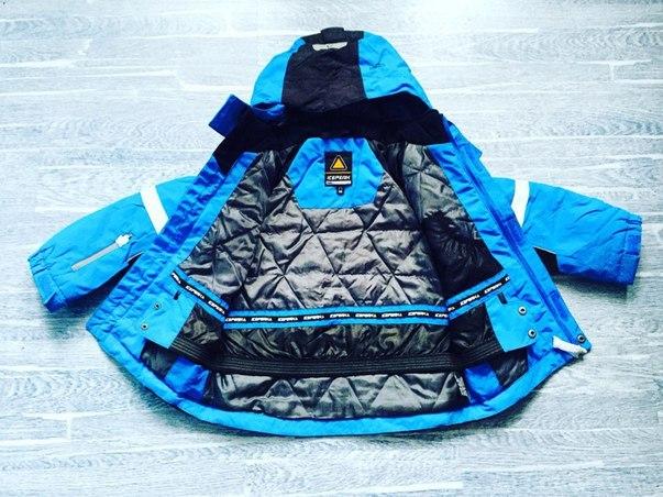 зимние мембранные детские куртки