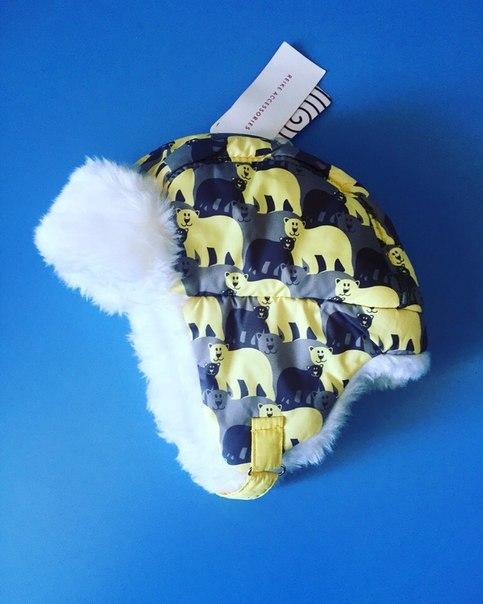 меховые шапки для детей