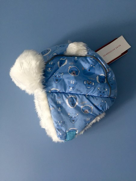 зимние шапки с ушками для детей