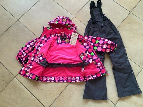 демисезонный костюм для девочки на 5 лет