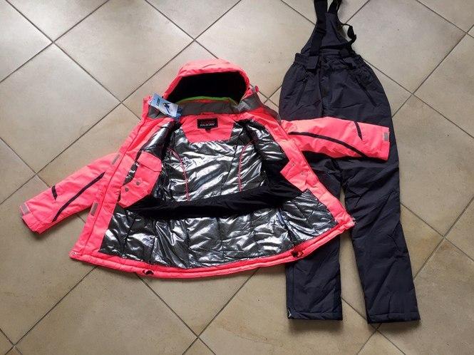Ярко-оранжевая зимняя мембранная куртка Kalborn