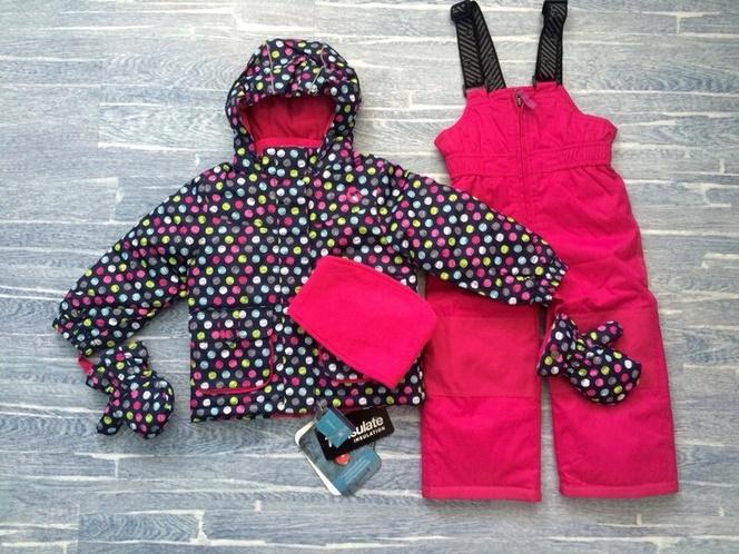 Зимний комплект для девочки Snobug by Krickets