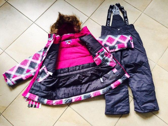 Куртки и полукомбинезоны для девочек