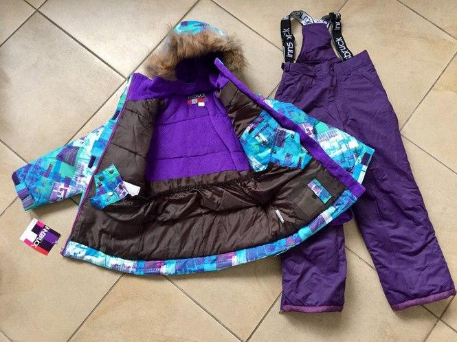 Непромокаемая зимняя одежда для детей
