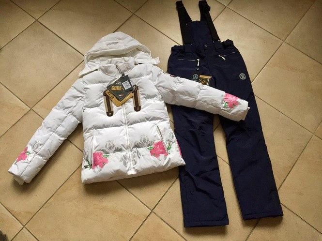 Яркие мембранные куртки для лыж
