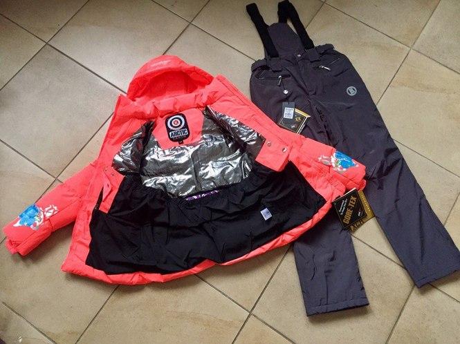 Оранжевая женская куртка Bogner