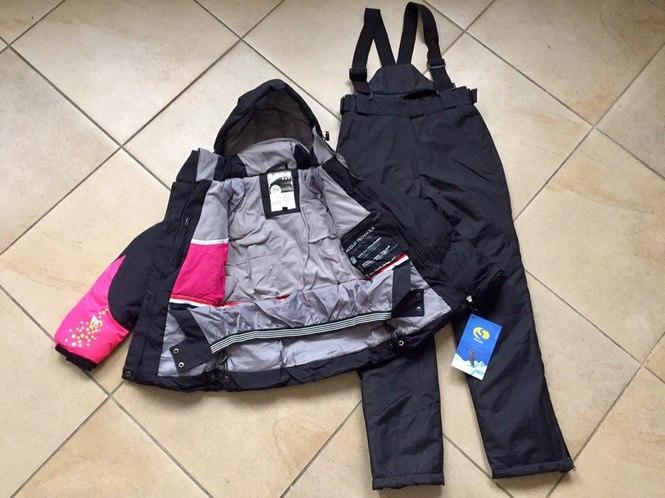 Яркие лыжные куртки для девочек
