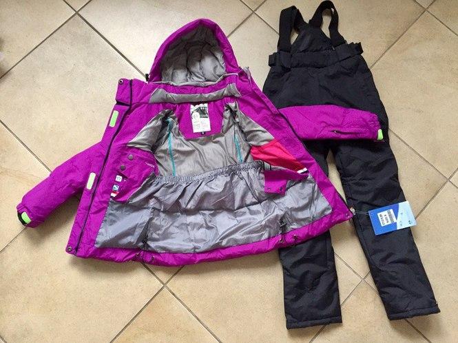 Детские мембранные зимние куртки