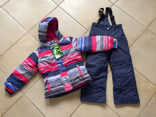 Зимний костюм для девочки Peluche et Tartine
