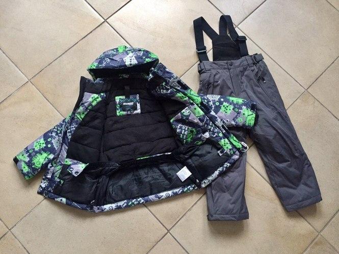 Теплая зимняя мембранная куртка для мальчика