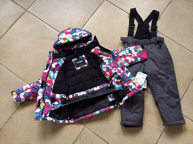 Зимняя одежда для девочек на пять лет