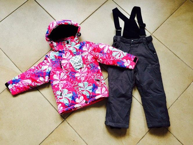 Зимний костюм куртка и полукомбинезон