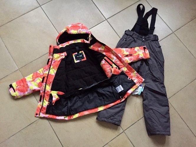 Мембранные удлиненные куртки для девочек