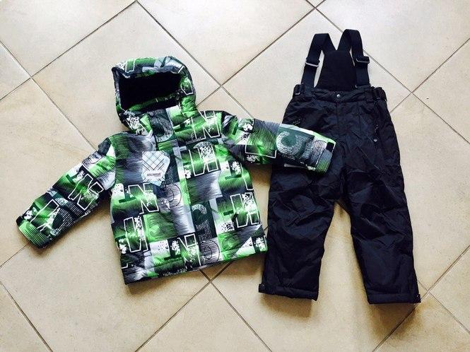 Стильная зимняя куртка для мальчиков
