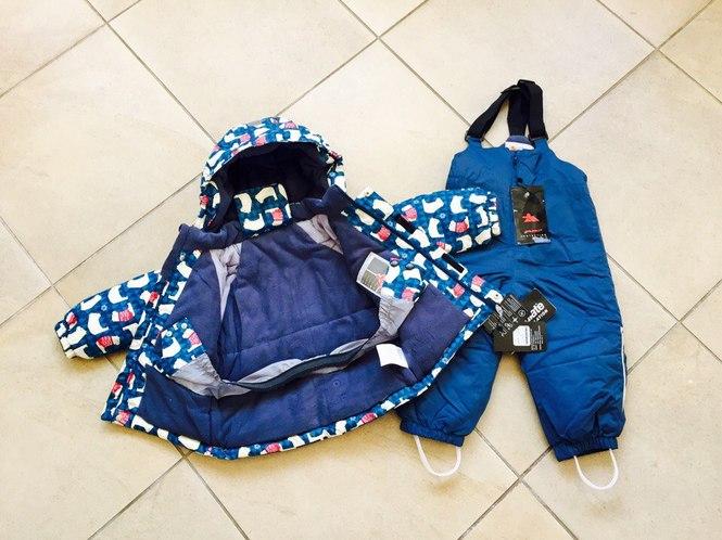 Зимний комплект Valianly для мальчика
