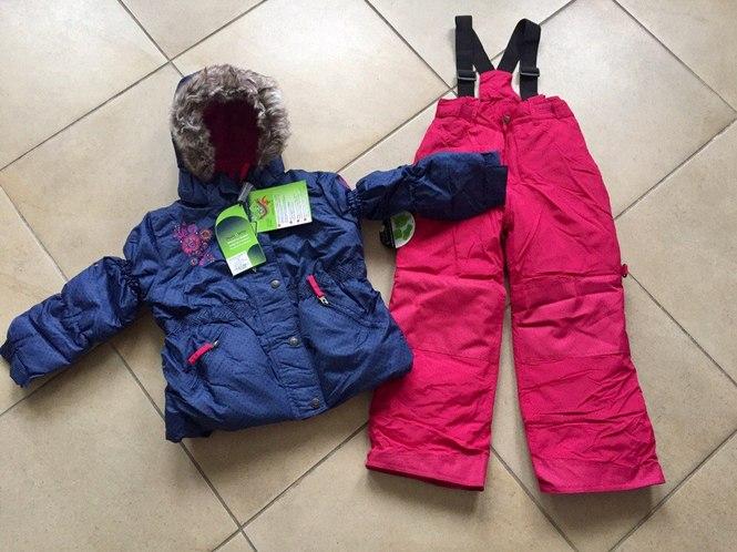 Зимняя приталенная куртка для девочки