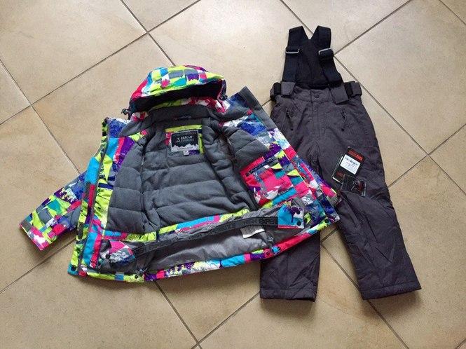 Яркие зимние куртки для девочек